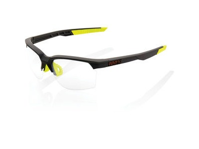 100% Sportcoupe - Soft Tact Cool Grey - Photochromic Lens