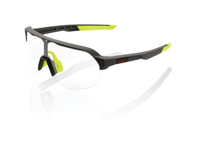 100% S2 - Soft Tact Cool Grey - Photochromic Lens