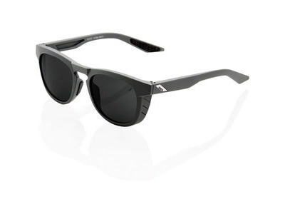 100% Slent - Soft Tact Cool Grey - Smoke Lens