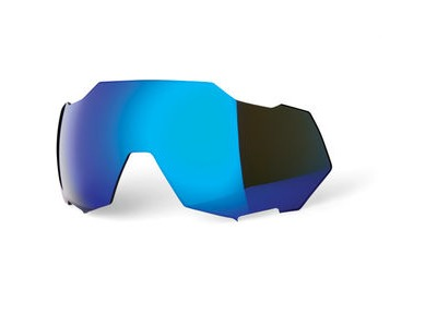 100% Speedtrap Replacement Lens - Electric Blue Mirror