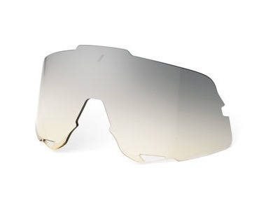100% Glendale Replacement Lens - Low-light Yellow Silver Mirror