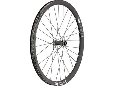 "DT Swiss HXC 1200 Hybrid, 30mm Carbon rim, 15 x 110mm BOOST axle, 27.5"" front"