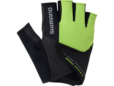 SHIMANO Men's, Advanced Gloves, Neon Lime