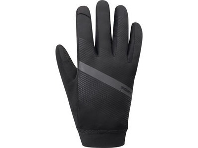 SHIMANO Men's Wind Control Glove, Black
