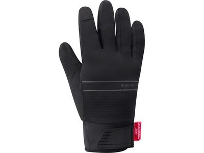 SHIMANO Unisex WINDSTOPPER® Insulated Gloves, Black