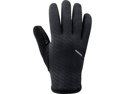 SHIMANO Men's Early Winter Gloves, Black