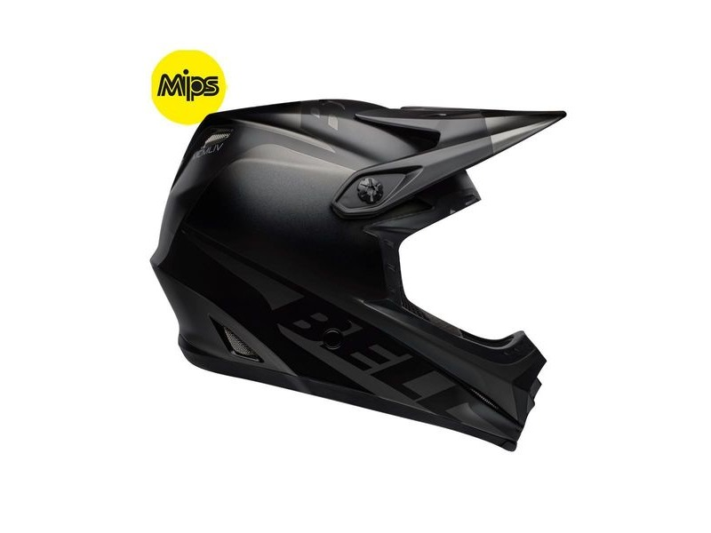 Bell Full-9 Fusion Mips MTB Full Face Helmet 2019: Matte Black click to zoom image