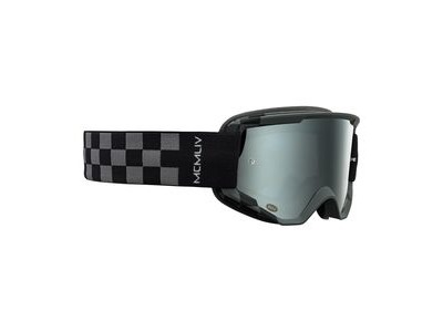 Bell Descender MTB Goggles (Mirrored Lens) 2020: Podium Matte Grey/Black - Silver Mirror Adult
