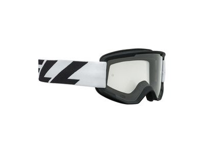 Bell Descender MTB Goggles (Clear Lens) 2020: Outbreak Matte White/Black Adult