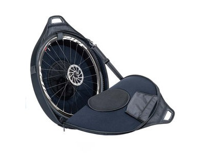 Zipp Connect Wheel Bag - Single (Attached Velcro Straps Allows For Two Bags To Be Connected Together)