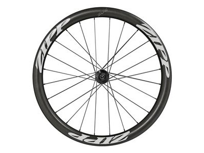 Zipp 302 Carbon Clincher Center Locking Disc Brake V1 Front, Convert Incl- Quick Release, 12mm & 15mm Through Axle Caps White 700c