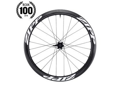 Zipp 303 Carbon Clincher Tubeless Disc Brake 177d Rear 24 Spokes Convertible Includes- Quick Release And 12x135/142mm Through Axle Caps White Decal 650c Sram