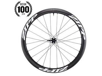 Zipp 303 Carbon Clincher Tubeless Disc Brake 77d Front 24 Spokes Convertible Includes- Quick Release 12mm & 15mm Through Axle Caps White Decal 650b