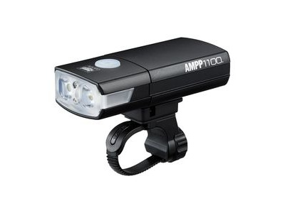 Cateye Ampp 1100 Front Light: Black