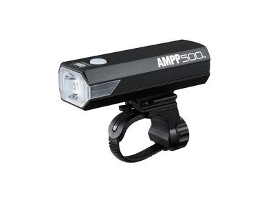 Cateye Ampp 500 Front Light: Black