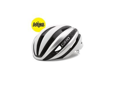 Giro Synthe Mips Road Helmet White/Silver