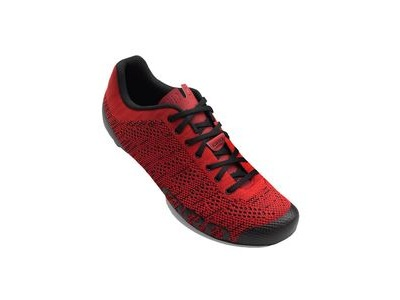 Giro Empire E70 Knit Road Cycling Shoes Bright Red/Dark Red