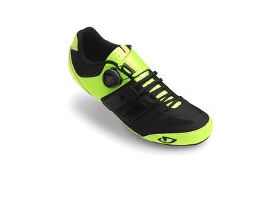 Giro Sentrie Techlace Road Cycling Shoes Highlight Yellow/Black