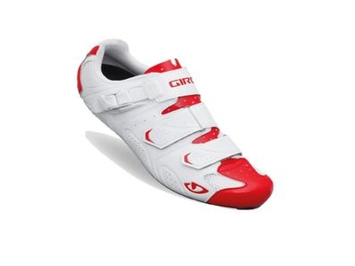 Giro Trans Road Cycling Shoes 2015 White/Red 40