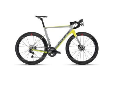 Forme Bikes FLASH Grey/Yellow Ultegra Di2 Fulcrum Carbon Road Bike