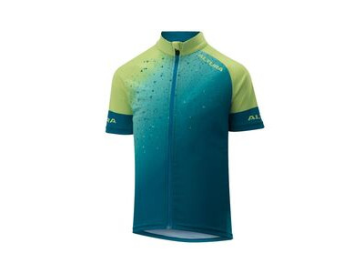 Altura Kids Icon Short Sleeve Jersey 2019 Teal/Yellow