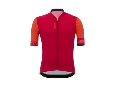 Santini Redux Short Sleeve Jersey Red