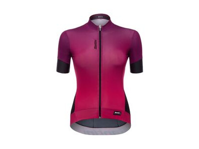 Santini Womens Queen 2.0 Short Sleeve Jersey Violet