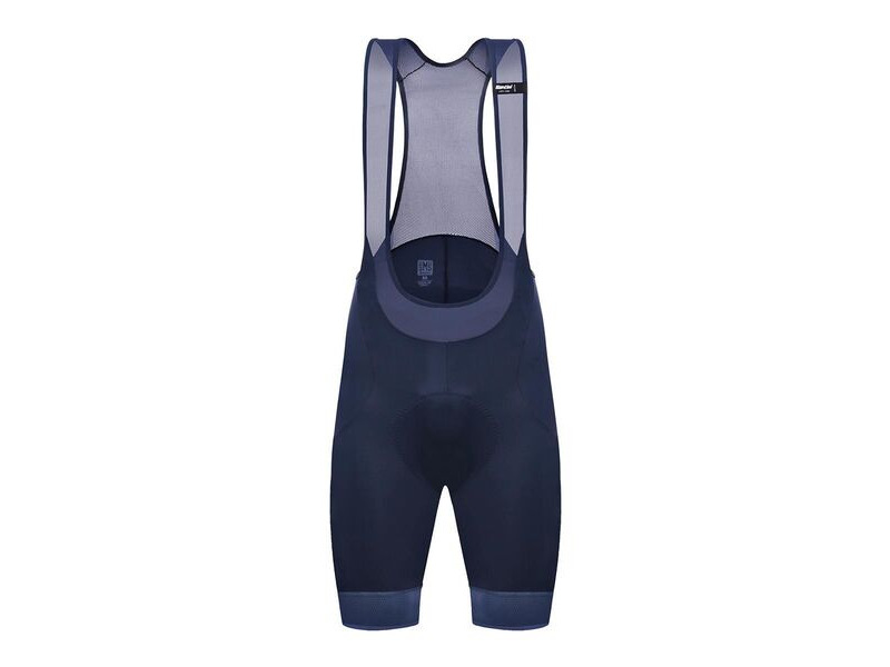 Santini 365 Scatto Bibshort Nautical/Airy Blue click to zoom image