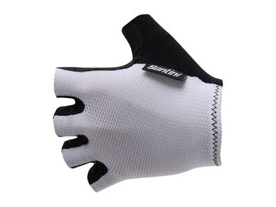 Santini 365 Brisk Short Finger Glove White
