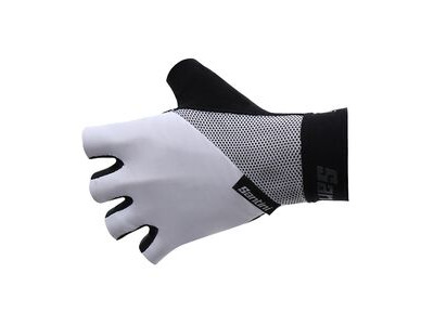 Santini 365 Origine Short Finger Glove White