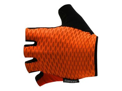 Santini Tono Summer Gloves Fluro Orange