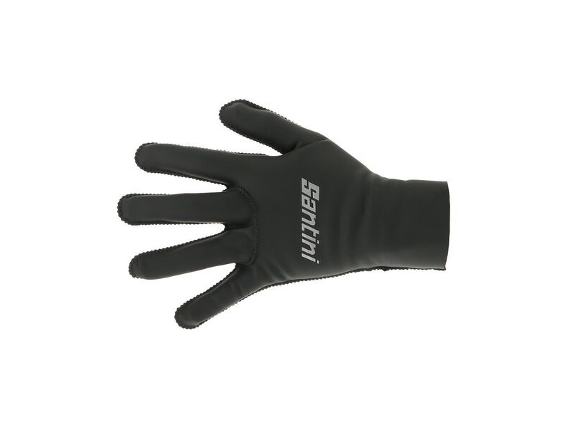 Santini Vega Gloves Black click to zoom image