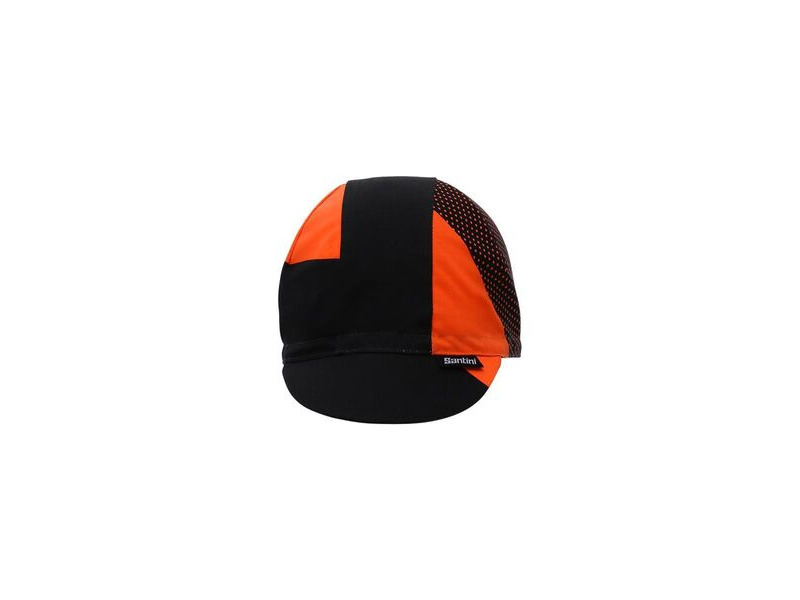 Santini 365 Cotton Cycling Cap Orange One Size click to zoom image