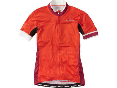 Madison Sportive Race Womens Short Sleeve Jersey, Chilli Red