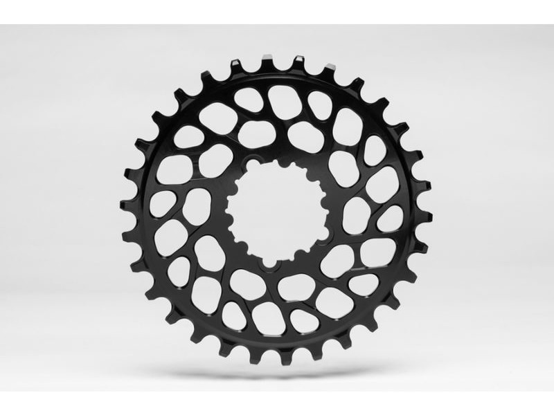 Absolute Black MTB Round SRAM BB30 Direct Mount click to zoom image