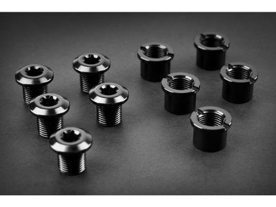 Absolute Black Chainring Bolts 5 pack